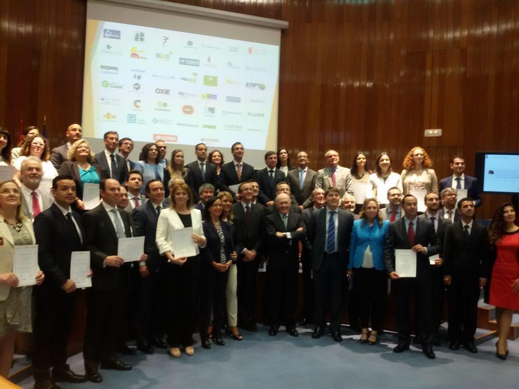 Entrega certificados EFR 2015 Masfamilia | Erre Ese