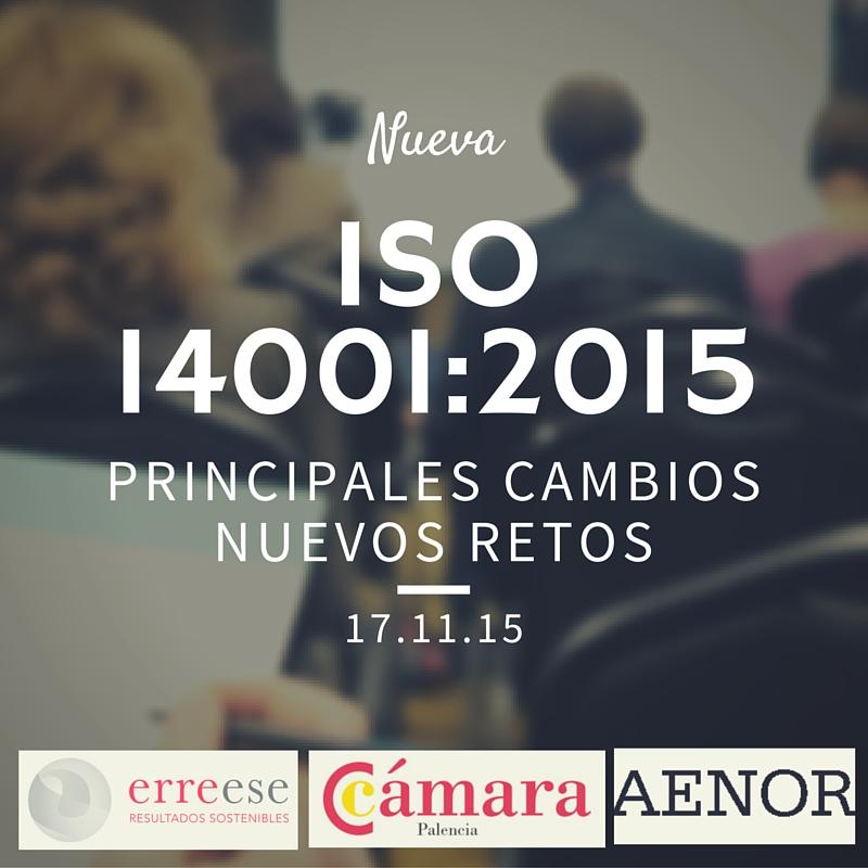 Jornada ISO 14001 Cámara Palencia | Erre Ese