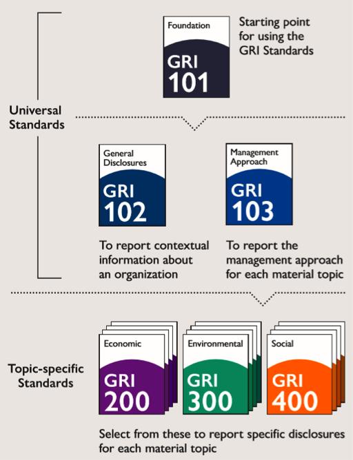estructura gri standards