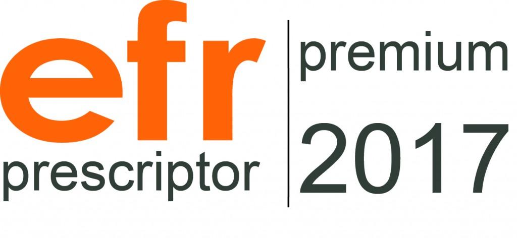 Modelo EFR Prescriptor Premium efr 2017 erre ese