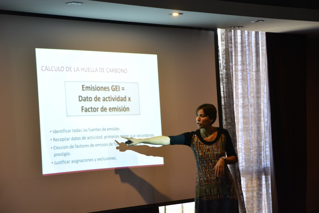 Jornada Huella Carbono | María Fuentes | Erre ESe
