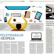 """Erre Ese en El Día de Valladolid: """"El teletrabajo no despega"""""""
