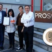 Prosol renueva su certificado efr en conciliación