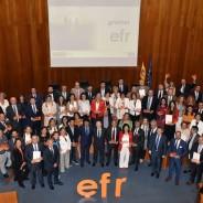 Entrega de Certificados efr 2018