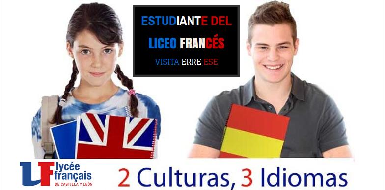 Estudiante del Liceo Francés CyL en Erre Ese | Erre Ese
