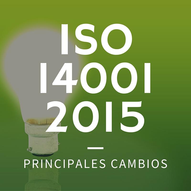ISO 14001 2015 Principales cambios | Erre Ese