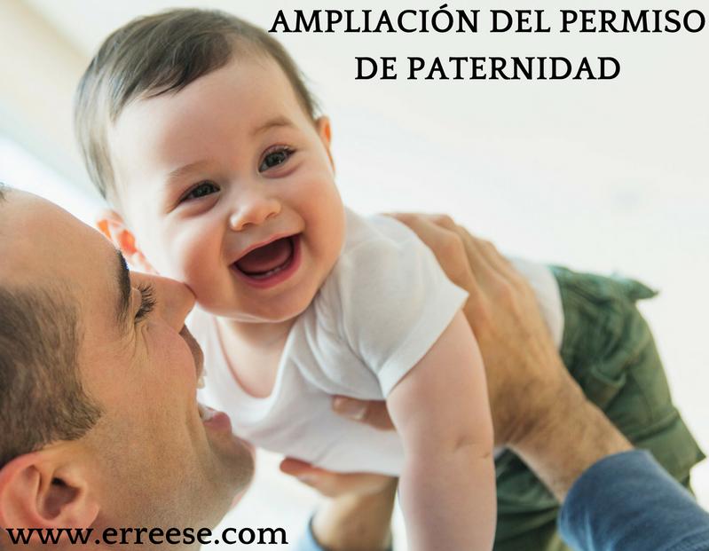 erre ese ampliacion permiso paternidad