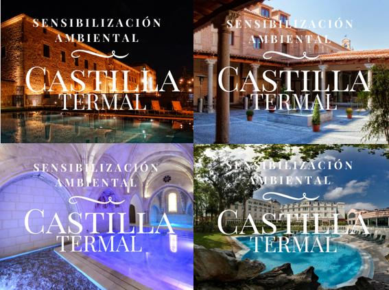 Sensibilización ambiental en Castilla Termal por Erre Ese