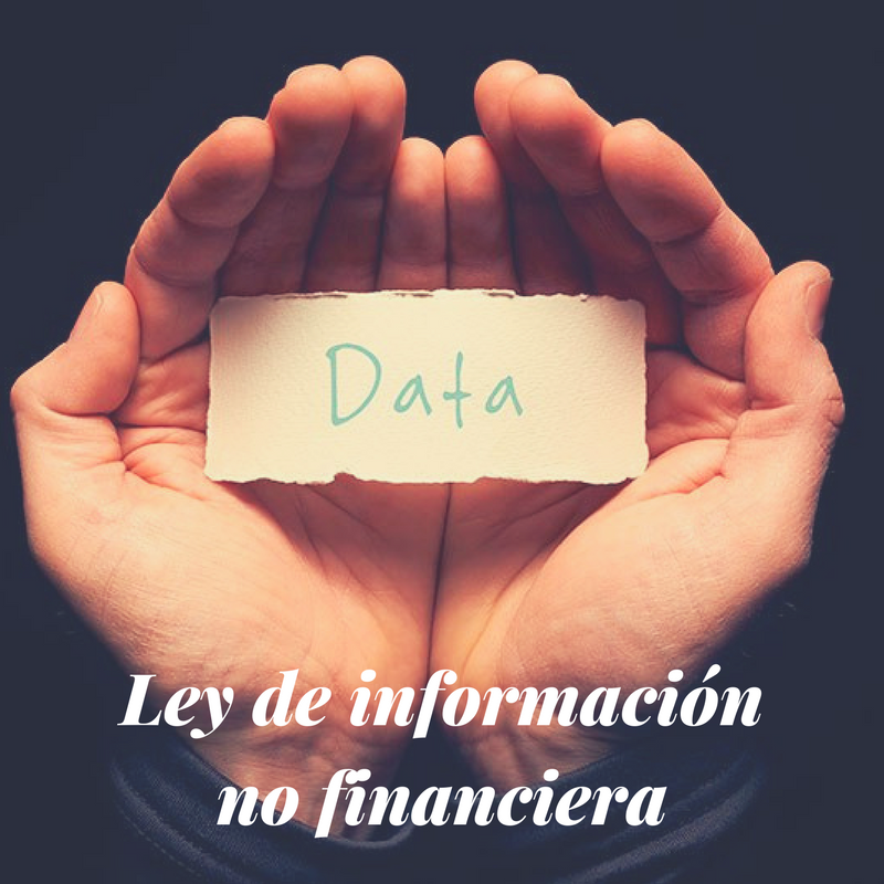 Ley de inf no financiera | Erre Ese