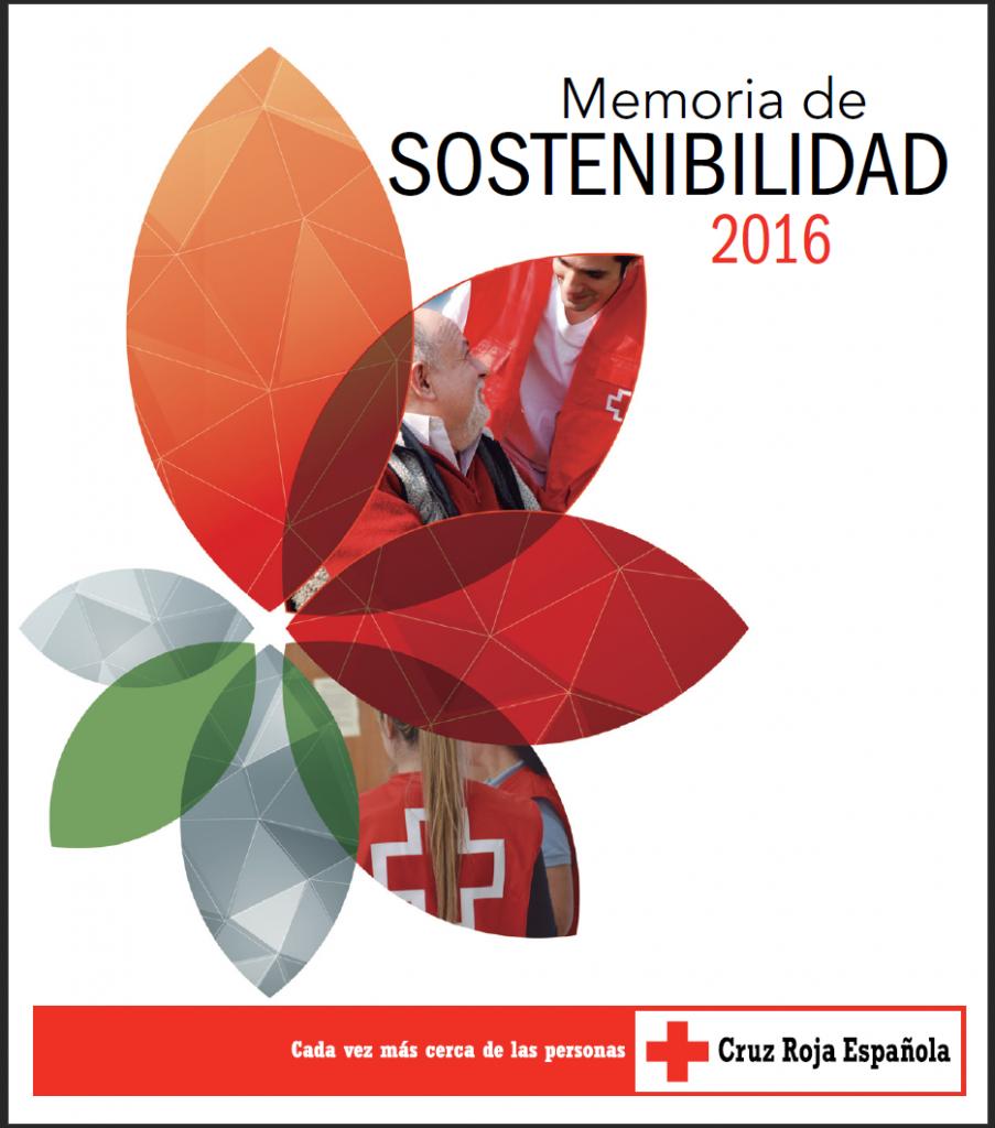 Memoria Sostenibilidad Cruz Roja Española 2016